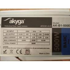Akyga Basic 500W AK-B1-500E tápegység
