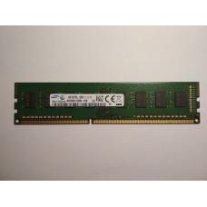 Samsung 4GB 1RX8 PC3-12800U-11-12-A1 DDR3 memória 1600Mhz M378B5173DB0-CK0