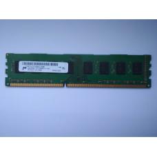 Micron 4GB 2RX8 PC3-10600U-09-11-B1 DDR3 memória 1333Mhz MT16JTF51264AZ-1G4M1