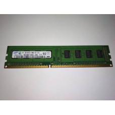 Samsung 2GB 1RX8 PC3-10600U-09-10-A0 DDR3 memória 1333Mhz M378B5773CH0-CH9