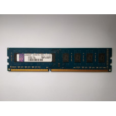 Kingston 4GB 2Rx8 PC3-12800U-11-11-B1 KVT8FP-HYC DDR3 memória 1600Mhz