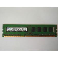 Samsung 4GB 2RX8 PC3-12800U-11-10-B0 DDR3 memória 1600Mhz M378B5273CH0-CK0