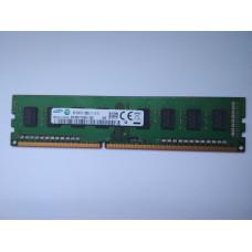 Samsung 4GB 1RX8 PC3-12800U-11-13-A1 DDR3 memória 1600Mhz M378B5173EB0-CK0