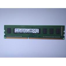 Samsung 4GB 1RX8 PC3-12800U-11-13-A1 DDR3 memória 1600Mhz M378B5173EB0-YK0