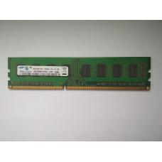 Samsung 2GB 2Rx8 PC3-10600U-09-10-B0 DDR3 memória 1333Mhz M378B5673FH0-CH9