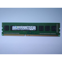 Samsung 4GB 1RX8 PC3-12800U-11-12-A1 DDR3 memória 1600Mhz M378B5173QH0-CK0