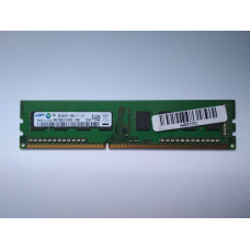 Samsung 4GB 1RX8 PC3-12800U-11-11-A1 DDR3 memória 1600Mhz M378B5173CB0-CK0
