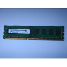 Micron 4GB 2RX8 PC3-12800U-11-11-B1 DDR3 memória 1600Mhz MT16JTF51264AZ-1G6M1