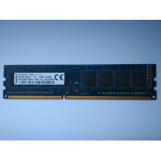 Kingston 4GB 1Rx8 PC3L-12800U-11-11-A1  DDR3 memória 1600Mhz