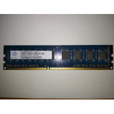 NANYA 4GB 2RX8 PC3-12800U-11-10-B0 DDR3 memória 1600Mhz NT4GC64B8HG0NF-DI
